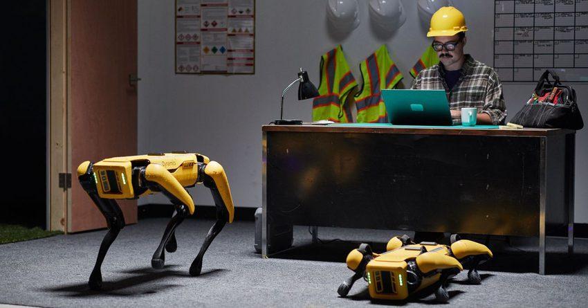 Hyundai заменил охранников на заводе на роботов