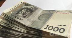 На обслуживание госдолга КР выделено 21.3 млрд сомов