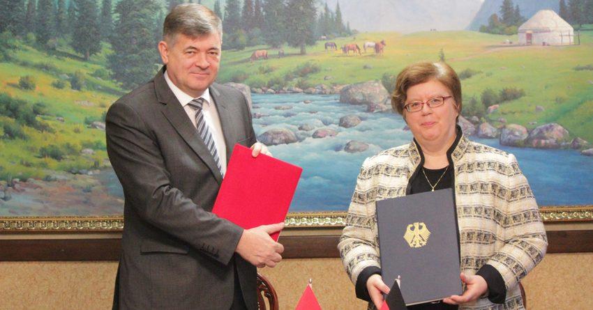 Германия выделит Кыргызстану €40 млн на развитие экономики