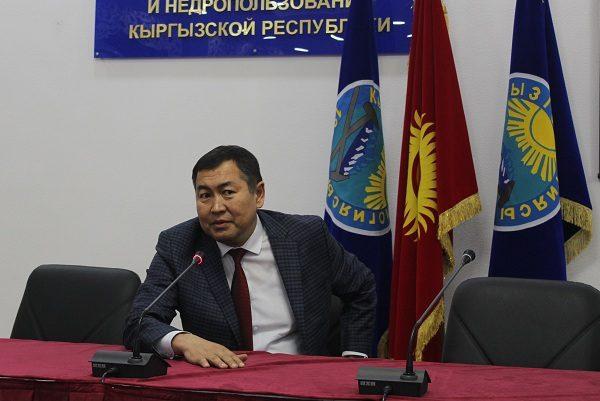 Джолдошбека Джунушева назначили директором ГП «Кыргызкомур»
