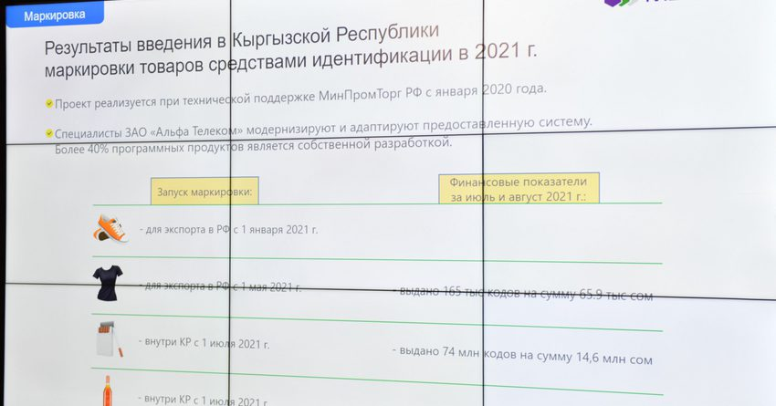 В КР презентовали систему мобильной идентификации и систему «Текшер»