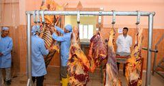 В Кыргызстане в селе Ала-Бука открыли мясной убойный цех