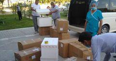 Больницы Чуйской области отправили гумпомощь в Баткен