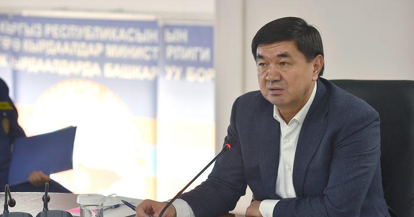 Абылгазиев: На борьбу с коронавирусом израсходовано более 183 млн сомов