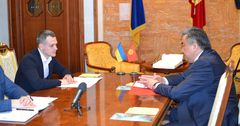 Кыргызстан и Украина обсудили активизацию бизнес-контактов