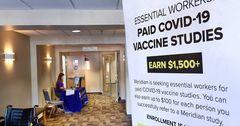 В США назвали возможную стоимость вакцины от коронавируса