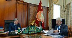 На встрече президента и главы Госэкотехинспекции упомянули тему Кумтора