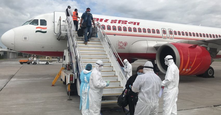 Бишкекке Минсктен 179 кыргызстандык кайтып келди