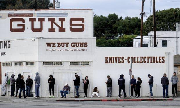 Акции оружейных компаний США подорожали из-за протестов
