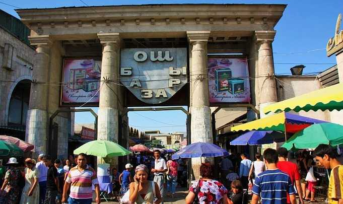 Более 100 человек получили места на Ошском базаре