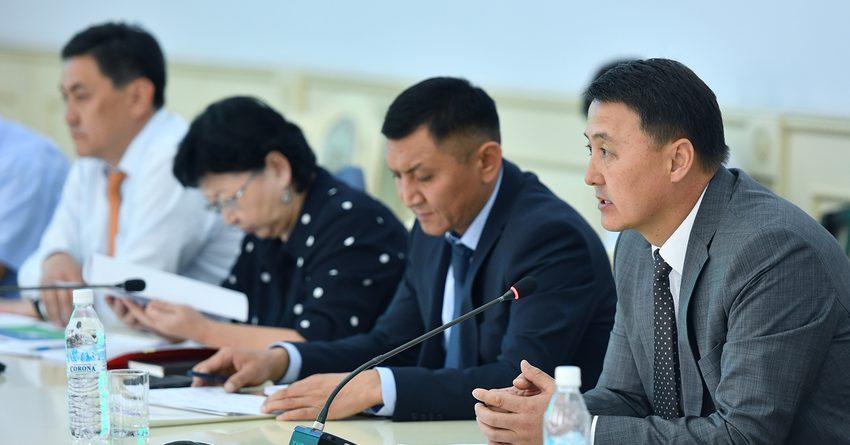 В КР состоялось первое заседание комиссии по отбору инвестпроектов