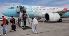 В Бишкек из Китая вернулись 100 граждан КР