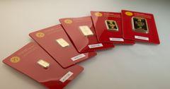 Унция золотых слитков НБ КР за неделю декабря подорожала на $80.5