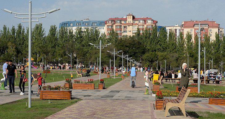 Бишкекте 15-июлда жаңы сейил бак ачылат