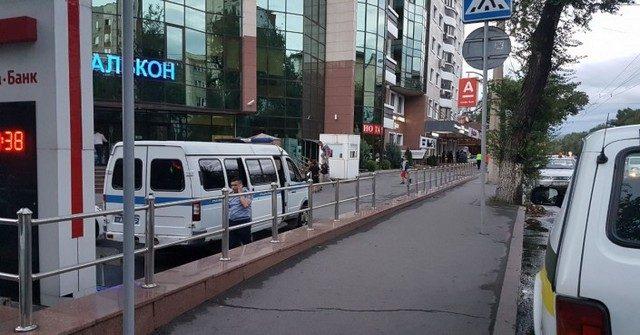 В Алматы ограбили отделение «Альфа Банка»