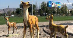 Частная компания подарила Бишкеку фигуры из Walt Disney на 200 тысяч сомов
