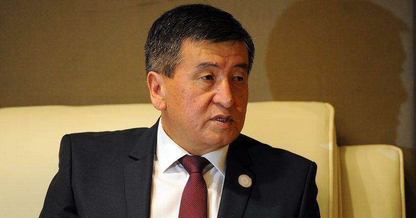 Доходы Сооронбая Жээнбекова в 2015 году снизились на 74 тыс. сомов