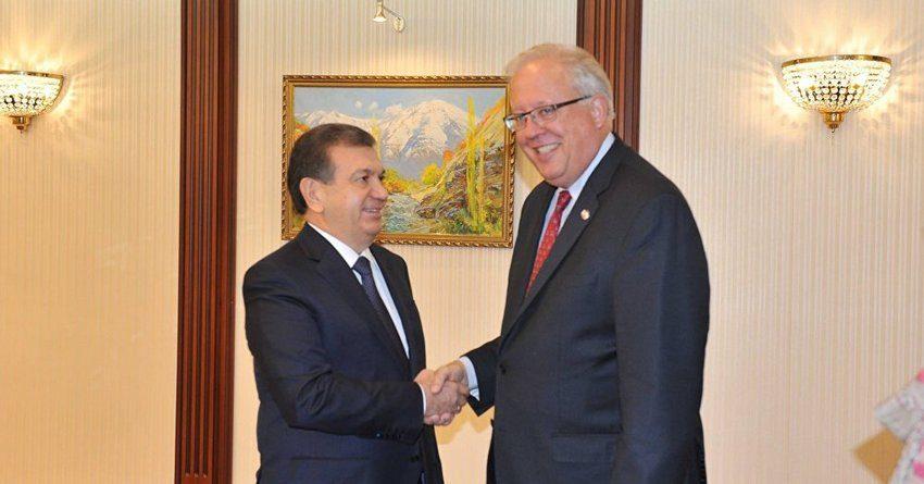 Узбекистан и США выступили за развитие торгово-экономического сотрудничества