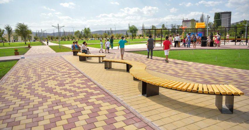 Мэрия столицы благоустроила парк с финансовыми нарушениями