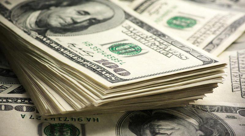 В октябре дефицит бюджета США составил $100 млрд