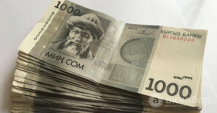 За шесть месяцев на выплату госпособий выделили 4.8 млрд сомов