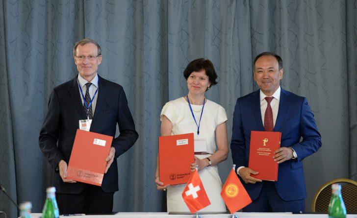3 документа, подписанных на встрече Жээнбекова с крупным бизнесом Швейцарии