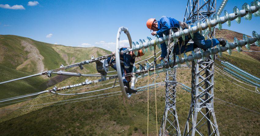 Потребление электроэнергии в КР выросло на 17.7% за год
