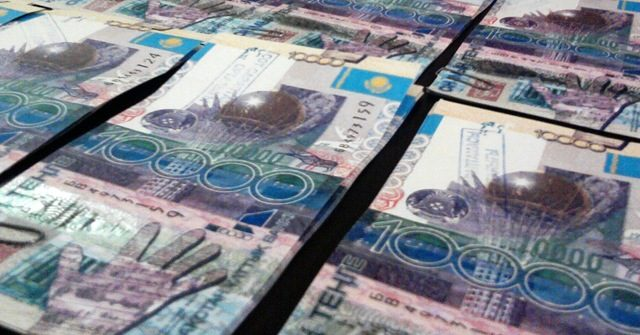Доходы госбюджета Казахстана выросли в 1.4 раза
