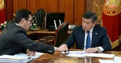 Президенту КР рассказали о цифровизации страны