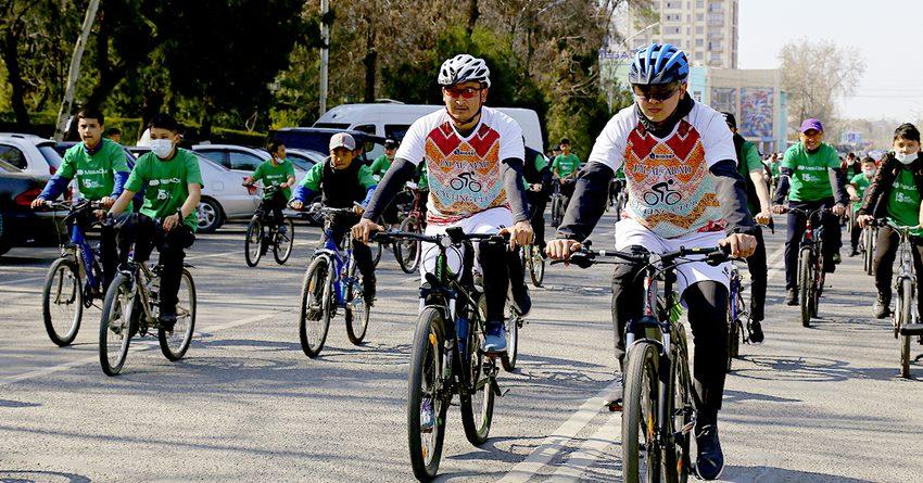 MegaCom открыл велосезон-2021 в городе Оше