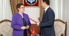 Посол Германии Моника Иверсен завершила свою дипмиссию в КР