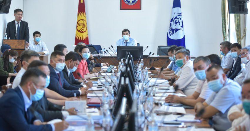 За восемь месяцев в мэрию города Бишкека поступило 5.1 млрд сомов