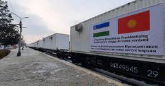 Узбекистан прислал КР конструкции для строительства больницы