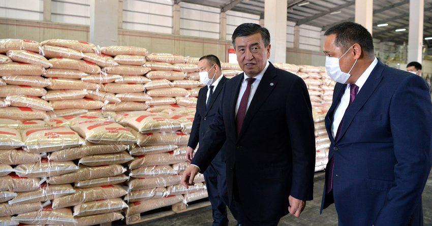 Президент посетил предприятие «Дан Агропродукты»