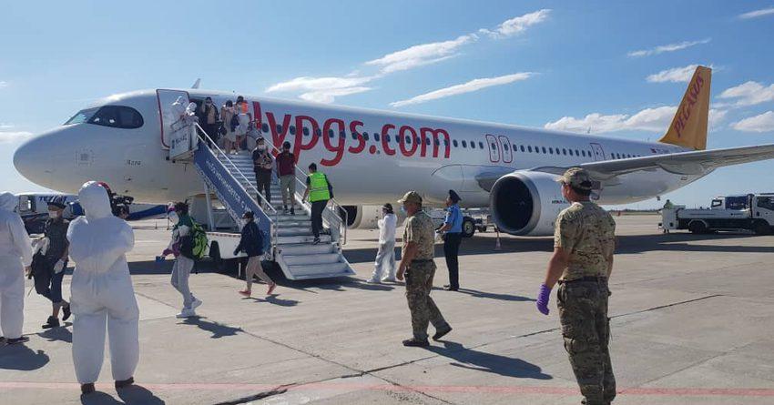 В Бишкек из Турции вернулись граждане Кыргызстана