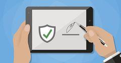 ГНС напомнила предпринимателям о необходимости приобретения электронной подписи