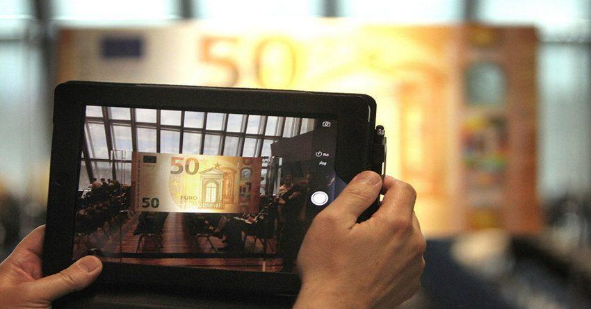 ЕЦБ ввел вобращение новейшую купюру €50 серии «Европа»