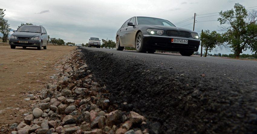 На строительство и ремонт автодорог потрачено 600 млн сомов