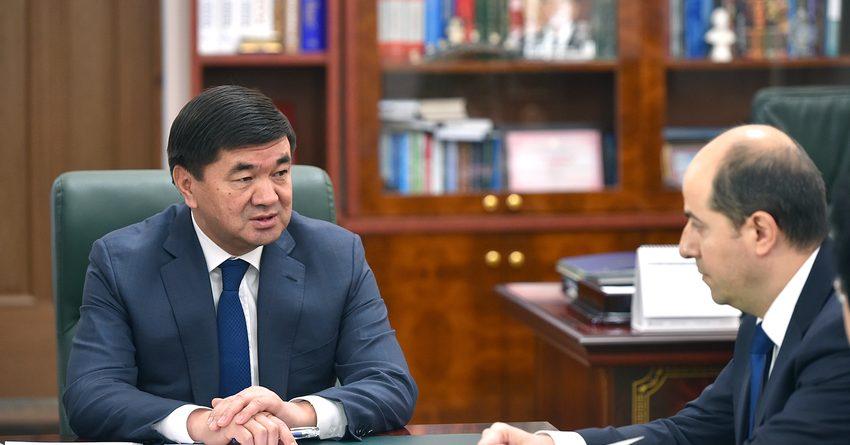 Абылгазиев встретился с постоянным представителем МВФ