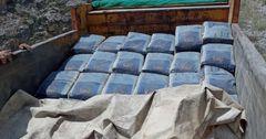 Пограничники задержали контрабанду цемента