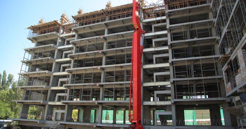 В КР введено в эксплуатацию более 788 кв. м жилья