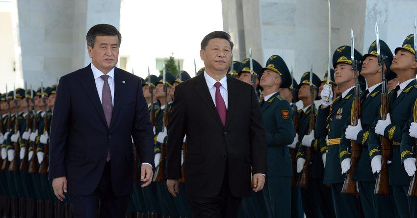 О чем договорились Сооронбай Жээнбеков и Си Цзиньпин?