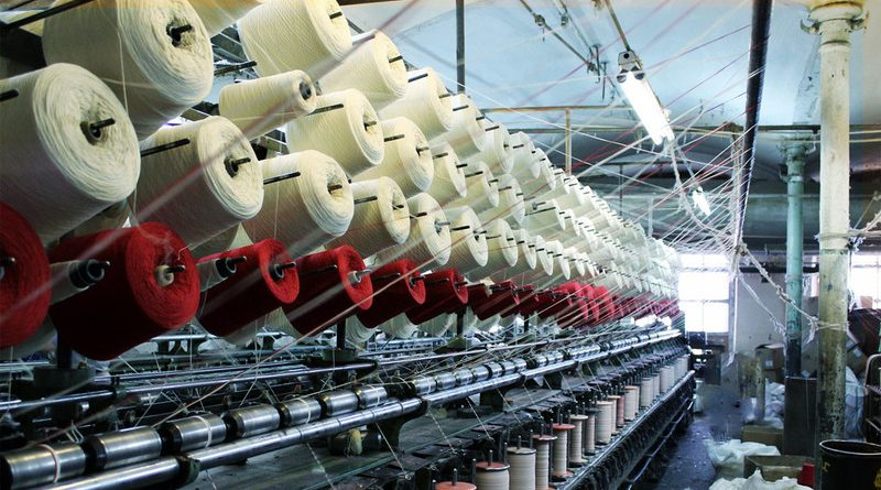 В экспорте текстиля из ЕАЭС КР занимает всего 3%