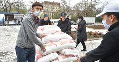 Ассоциация предпринимателей Китая в КР помогла нуждающимся