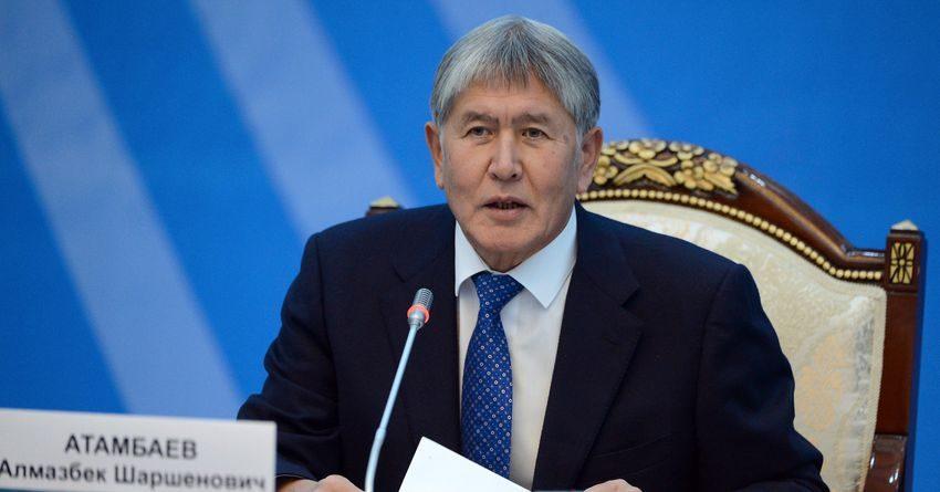 Атамбаев: В ЕАЭС действуют не соглашения, а капризы и прихоти какого-нибудь царька