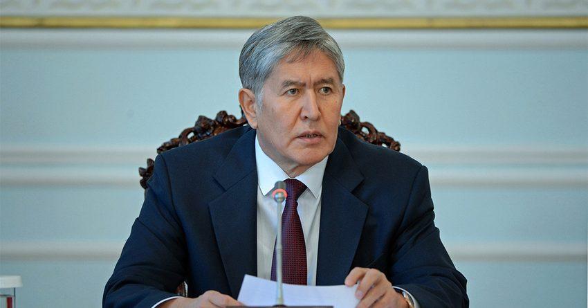 Атамбаев и председатель коллегии ЕЭК обсудили снятие торговых барьеров