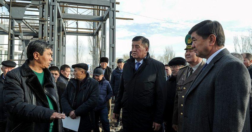 На строительство пунктов пропуска Токмок и Кен-Булун потратили 28 млн сомов