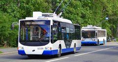 Закупленные на кредит и грант ЕБРР новые троллейбусы в Бишкеке ожидают в сентябре