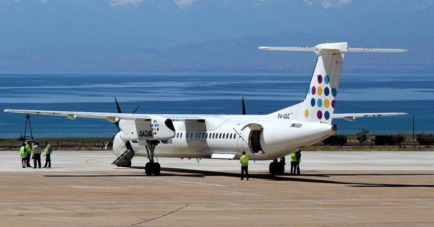 Аэропорты в Тамчы и Караколе приняли почти 200 самолетов из-за рубежа