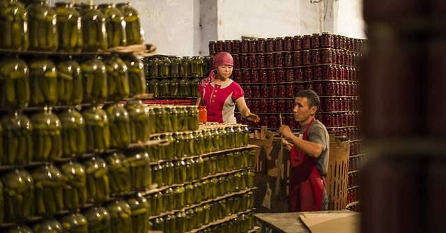 Кыргызстан перерабатывает только 15% урожая сельхозпродукции
